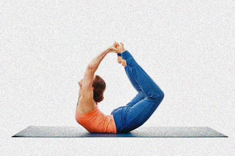 Хатха йога поза лука