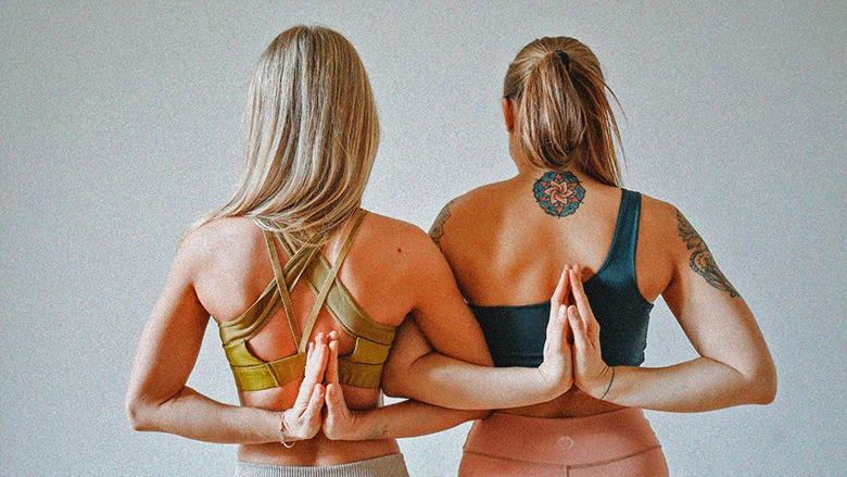 инь йога фото