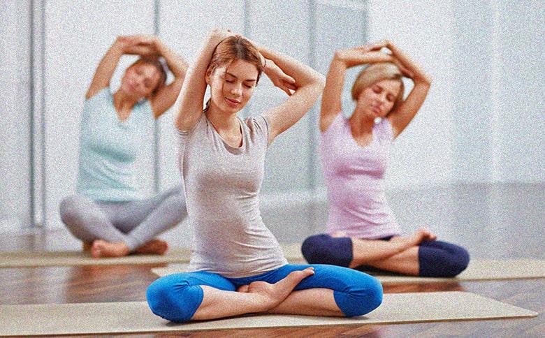 айенгара йога фото